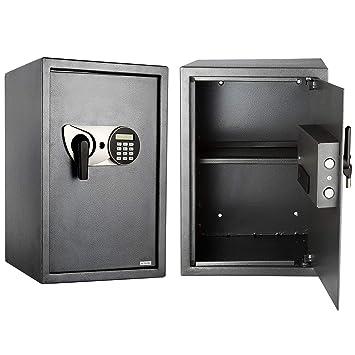 HMF Safe Möbeltresor Doppelbartschloss Hotelsafe Geldsafe Geldschrank Minisafe