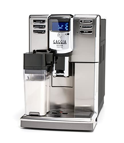 Gaggia-Anima-Prestige-Automatic-Coffee-Machine,-Super-Automatic-Frothing-for-Latte,-Macchiato,-Cappuccino-and-Espresso-Drinks-with-Programmable-Options