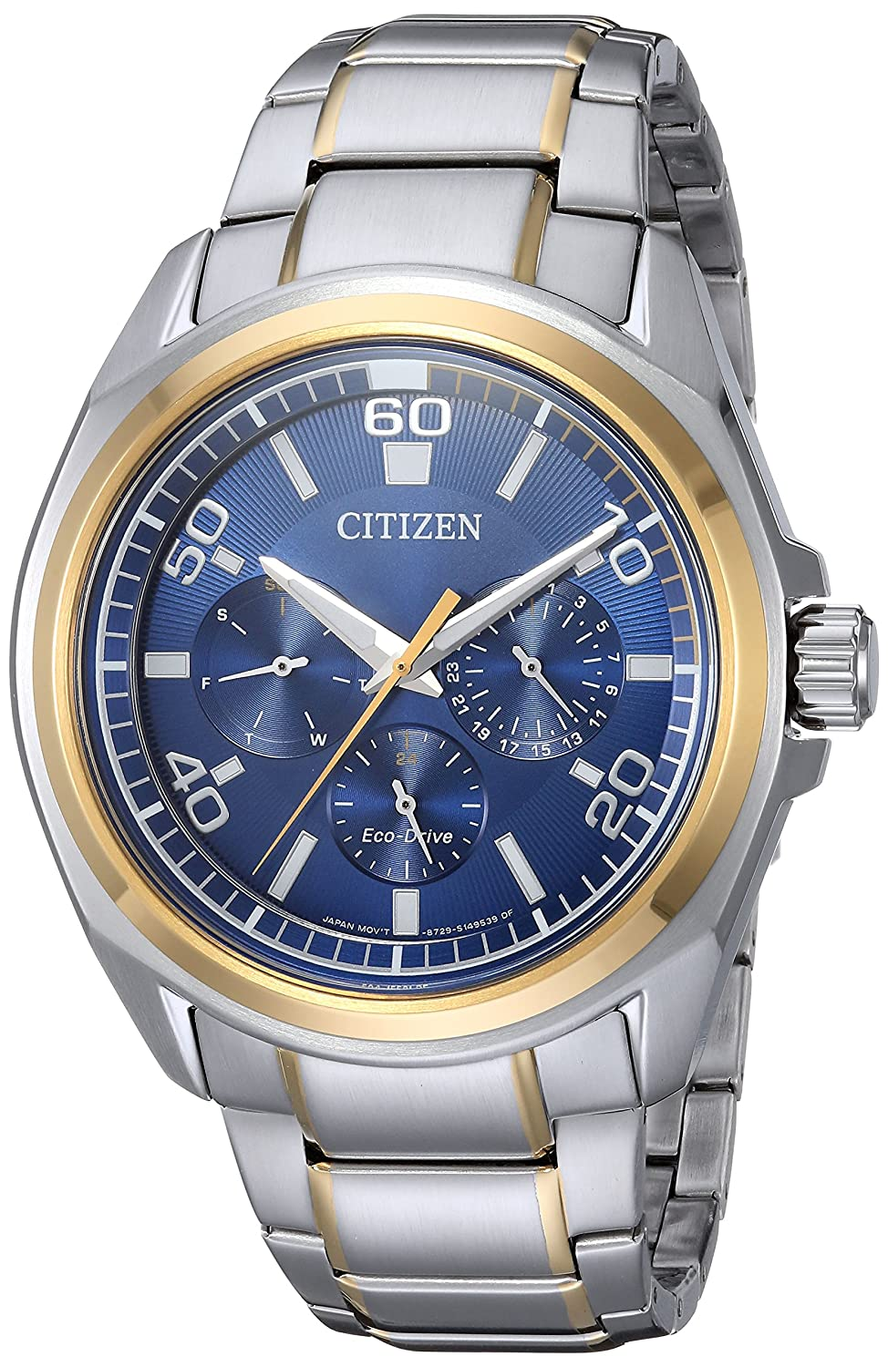 Citizen Men s Quartz Stainless Steel Casual Watch, Color Two Tone Model BU2064-58L