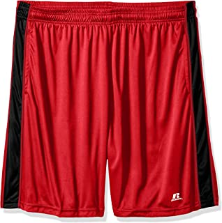 21a91b2d3b Russell Athletic Men's Big and Tall Dri-Power Short with Contrast Side Panel