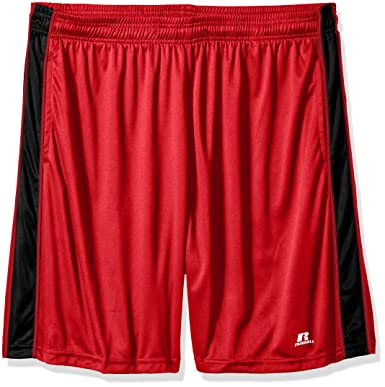 152e35c71c8d60 Russell Athletic Men s Big and Tall Dri-Power Short with Contrast Side Panel