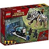 LEGO - 76099 - Marvel Super Heroes - Jeu de construction - Black Panther contre Killmonger - Le Combat dans la mine