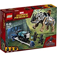 LEGO Marvel Super Heroes Black Panther Rhino Face-Off by the Mine 76099 Playset Toy