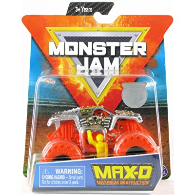 MJ 2020 Monster Jam Max-D with Orange Tires 1:64: Toys & Games