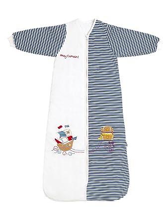 SlumberSafe Winter Baby Sleeping Bag Long Sleeves 3 Point 5 Tog Pirate 12 To 36 Months