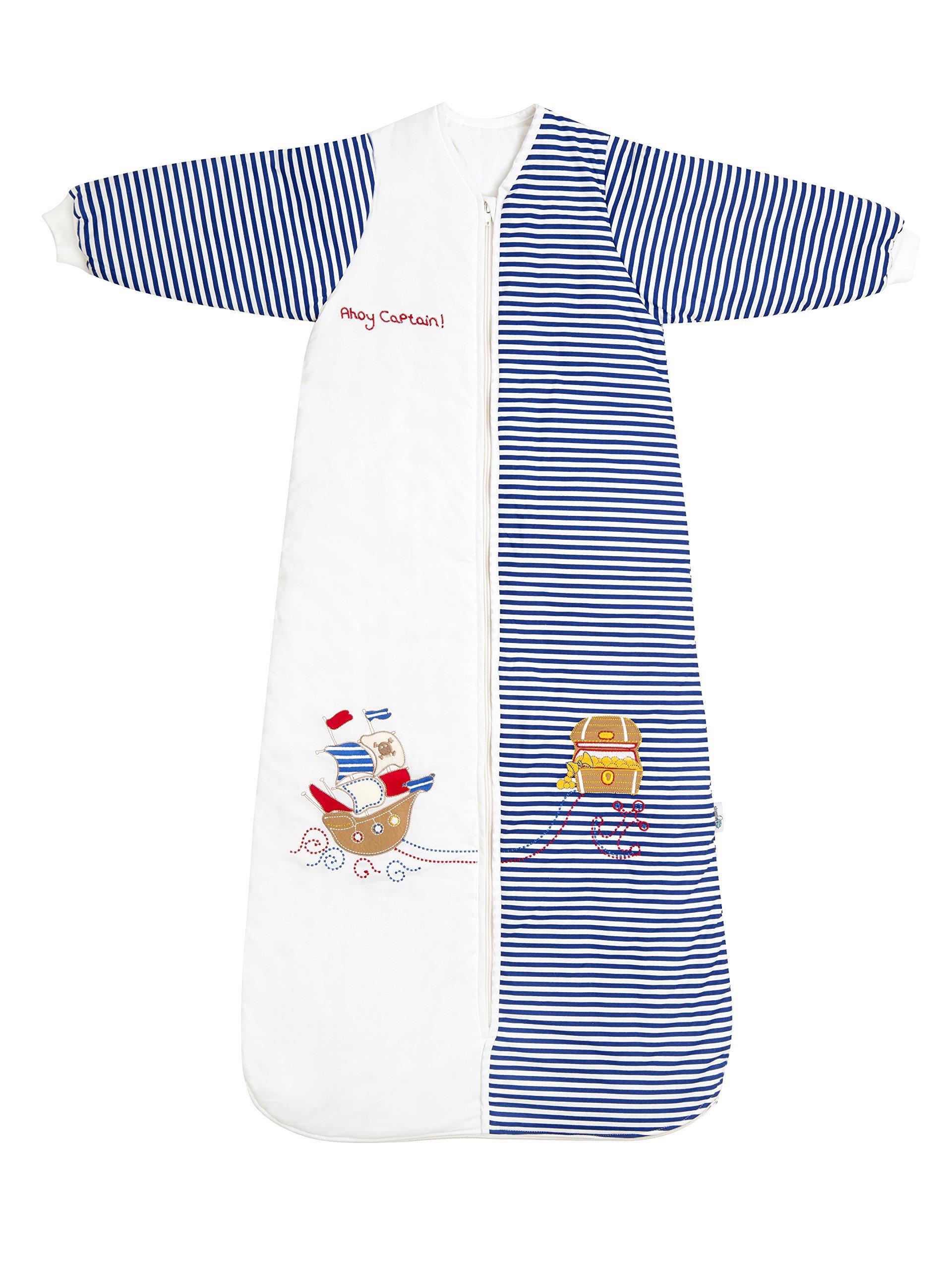 Slumbersafe Winter Kid Sleeping Bag Long Sleeves 3.5 Tog - Pirate, 6-10 years/XXL