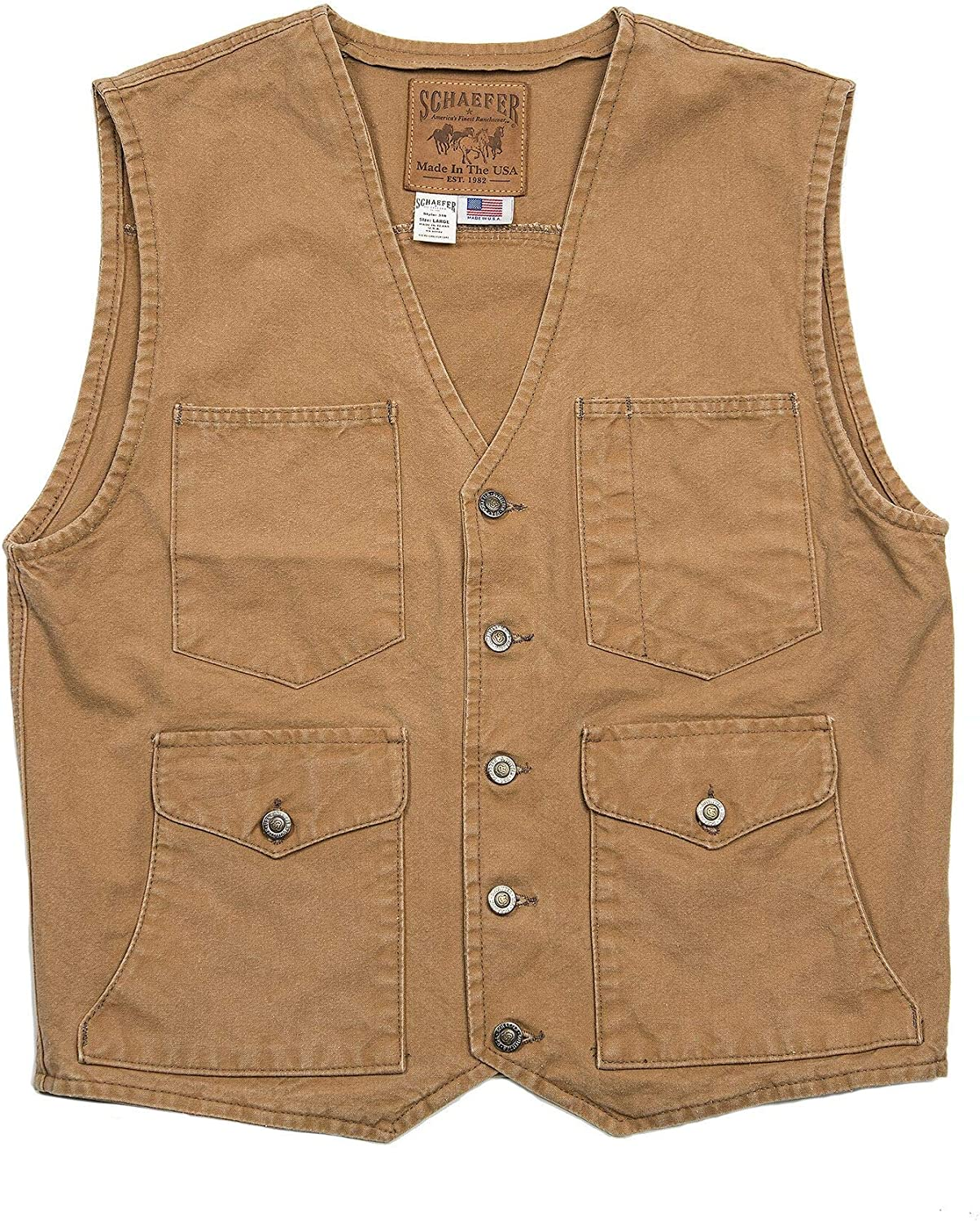 1920s Style Mens Vests Vintage Mesquite Vest $120.00 AT vintagedancer.com