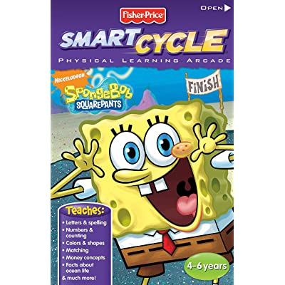 Fisher-Price Smart Cycle Extreme [Old Version] SpongeBob Software Cartridge: Toys & Games