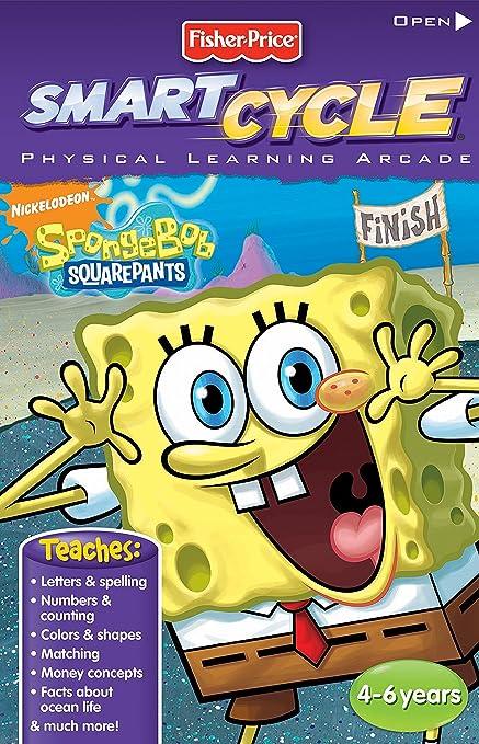 Amazoncom Fisher Price Smart Cycle Extreme Old Version Spongebob