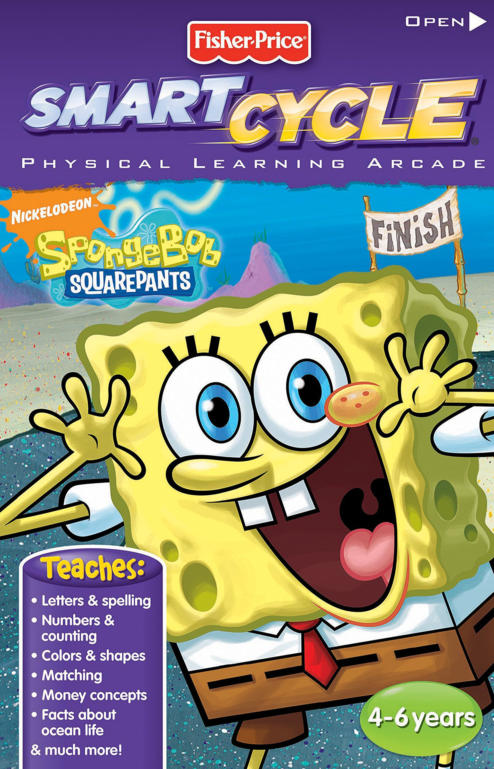 Fisher-Price Smart Cycle Extreme [Old Version] SpongeBob Software Cartridge by Fisher-Price (Image #1)