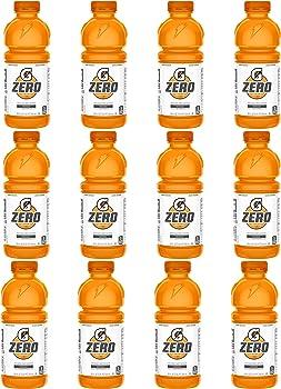 12-Pack Gatorade Zero Sugar Thirst Quencher 20 Fl Oz (Orange)