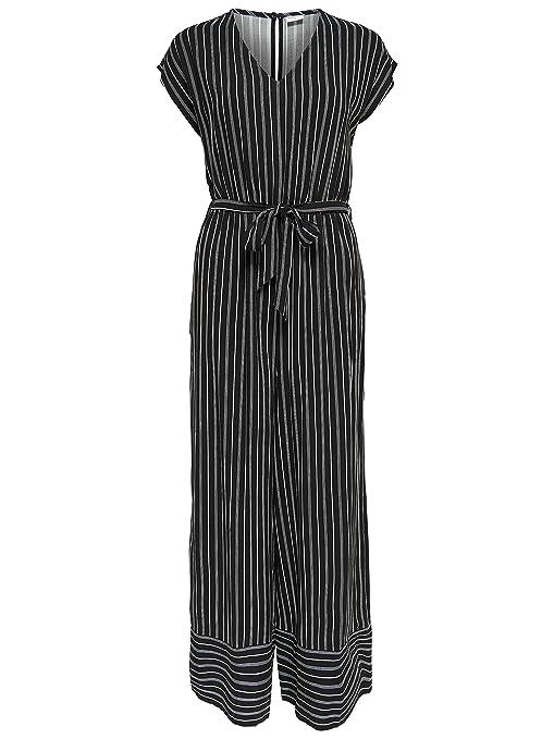15684eb601a JACQUELINE de YONG Women s Jumpsuit - Black - UK 12  Amazon.co.uk  Clothing