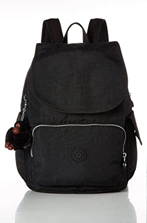 11458cd9d Amazon.com: Kipling Women's City Pack, Black: Clothing