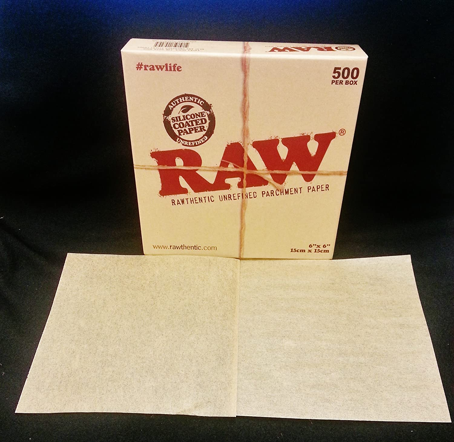 Raw Silicone Coated 6