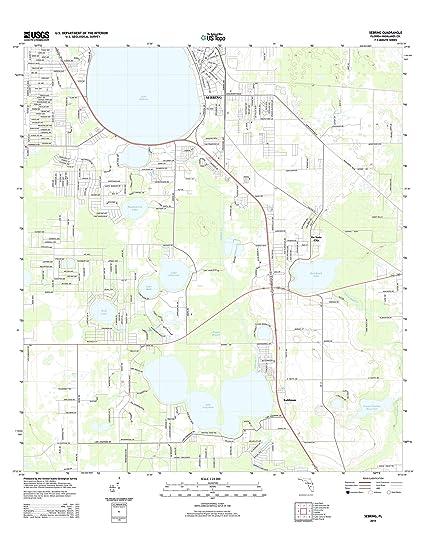 Sebring Florida Map.Amazon Com Topographic Map Poster Sebring Fl Tnm Geopdf 7 5x7 5