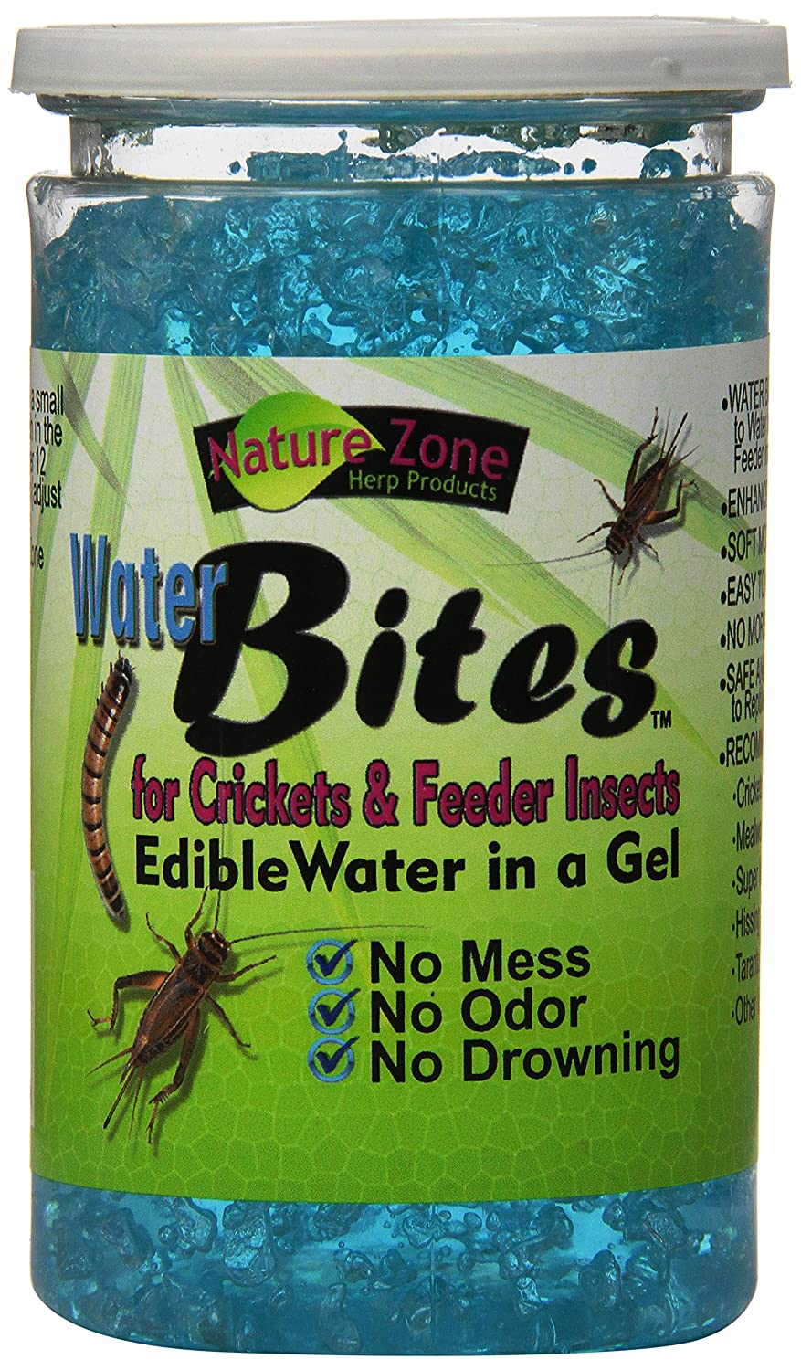 Nature Zone 440-54211 Nature Zone Cricket Water Bites 11.6oz TopDawg Pet Supply 831004