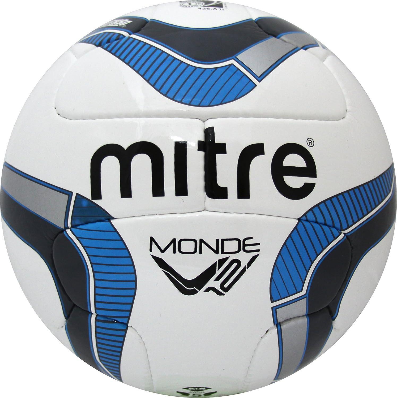 Mitre Monde v12sサッカーボール B0112RLCRO ブルー ブルー