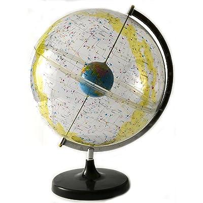 "17.5"" Tall Eisco Labs Celestial Star Globe - 12"" Globe Diameter: Industrial & Scientific"