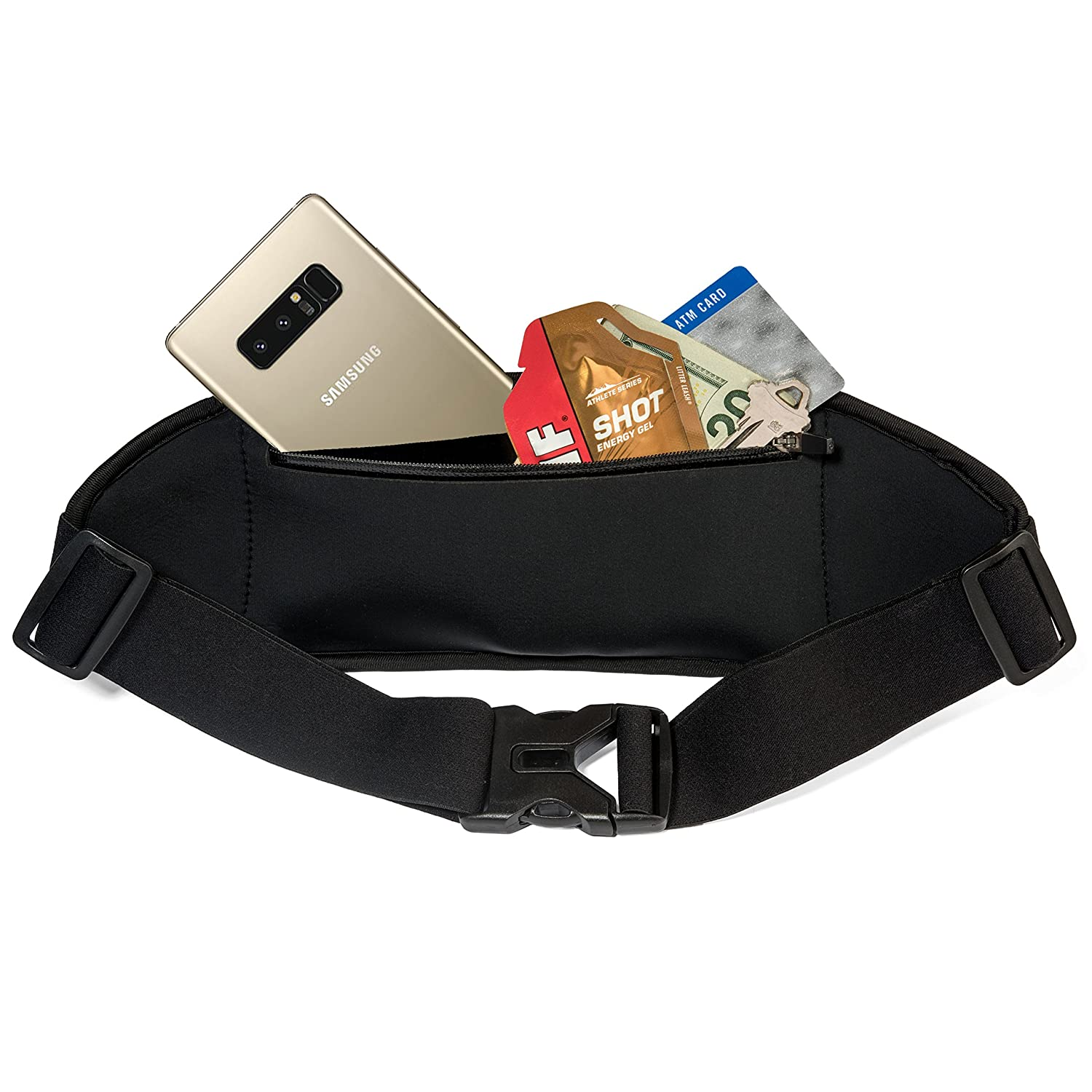 X Note 9 Pixel 3 XL 8 Plus Note 8 S8 Plus iPhone 8 Galaxy S10 Plus 2 XL S9 Plus S8 XR S10 S9 S10e Xs Max Sporteer Zephyr Slim Running Belt for iPhone Xs and MANY More Phones /& Cases
