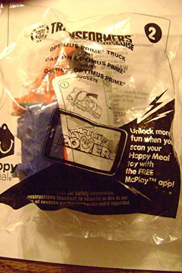 Mcdonalds Happy Meal 2016 Transformers Optimus Prime Truck Toy By