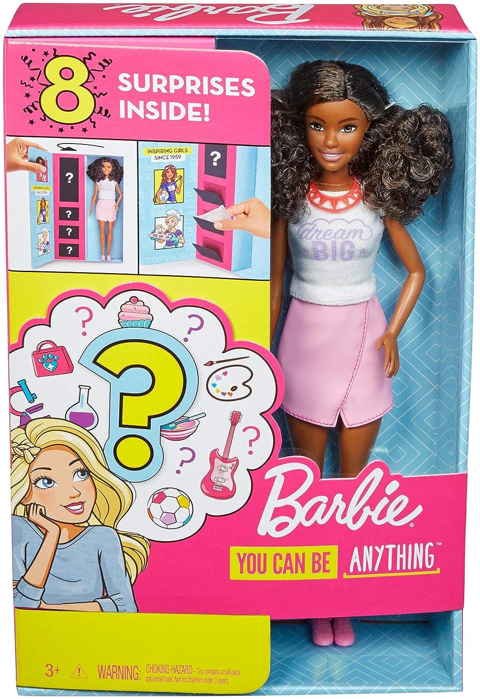 Amazon.es: Mattel Barbie Profesiones-Muñeca Morena con Ropa ...