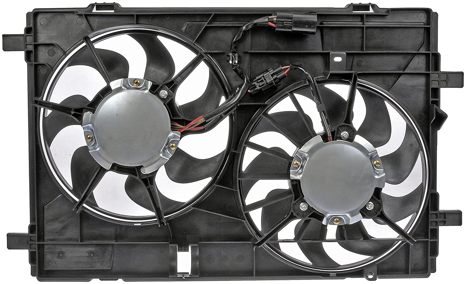 Dorman 621-409 Dual Radiator Fan Assembly Without Controller
