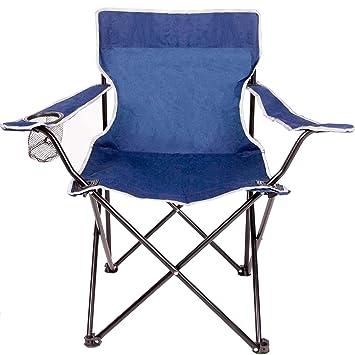 Anaterra silla plegable (camping Silla con reposabrazos y ...