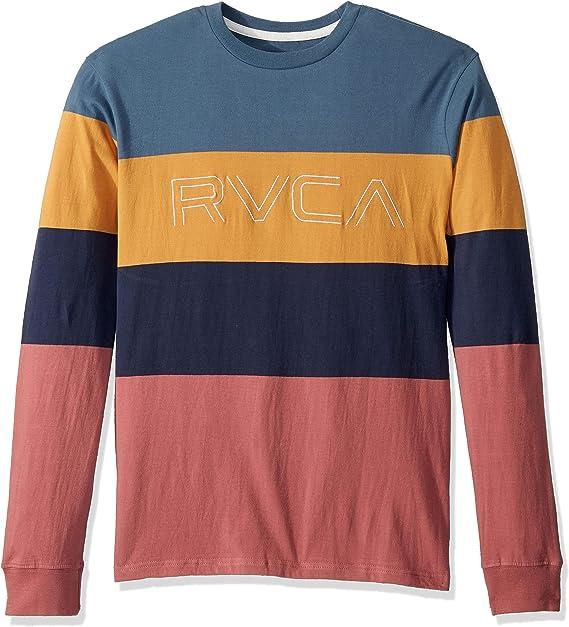 RVCA Men/'s Sketchbook Long Sleeve T-Shirt