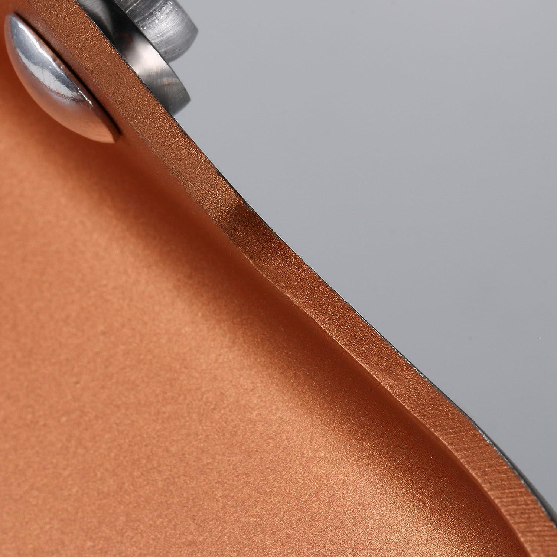 COOKSMARK Copper Pan 28cm Keramische Antihaft-beschichtung Aluminium Sp/ülmaschinenfest Bratpfanne Kupferpfanne Edelstahlgriff Backofen Sicher Steakpfanne