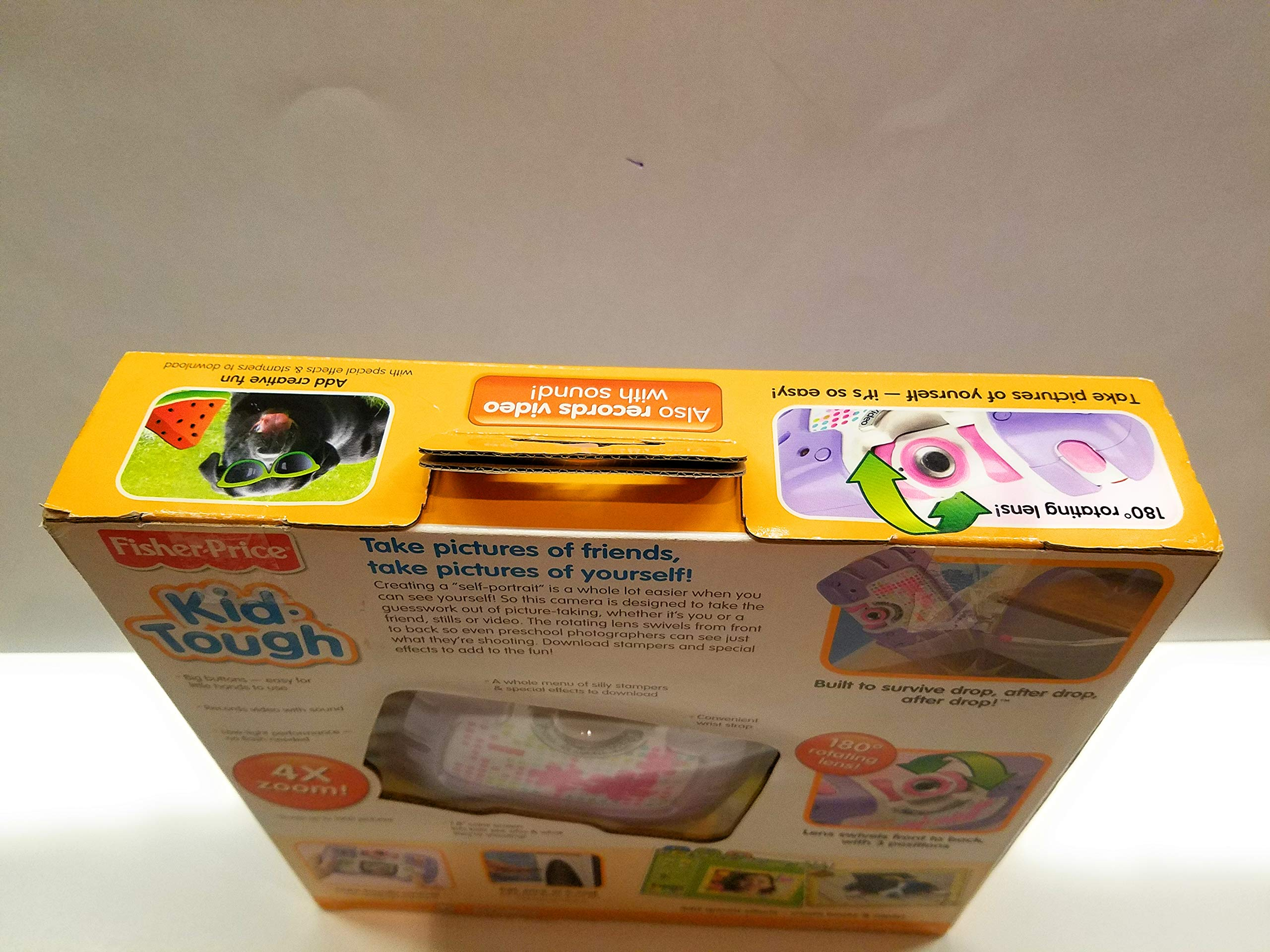 Fisher-Price Kid-Tough See Yourself Camera, Purple by Fisher-Price (Image #6)