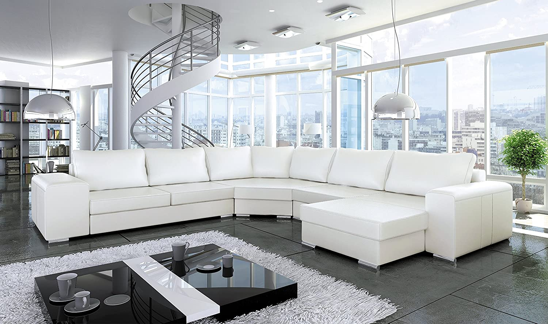 Couch Couchgarnitur Sofa ASPEN Sofagarnitur Polsterecke ...