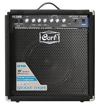 Cort GE30B amplificador de 30W Bajo eléctrico Negro