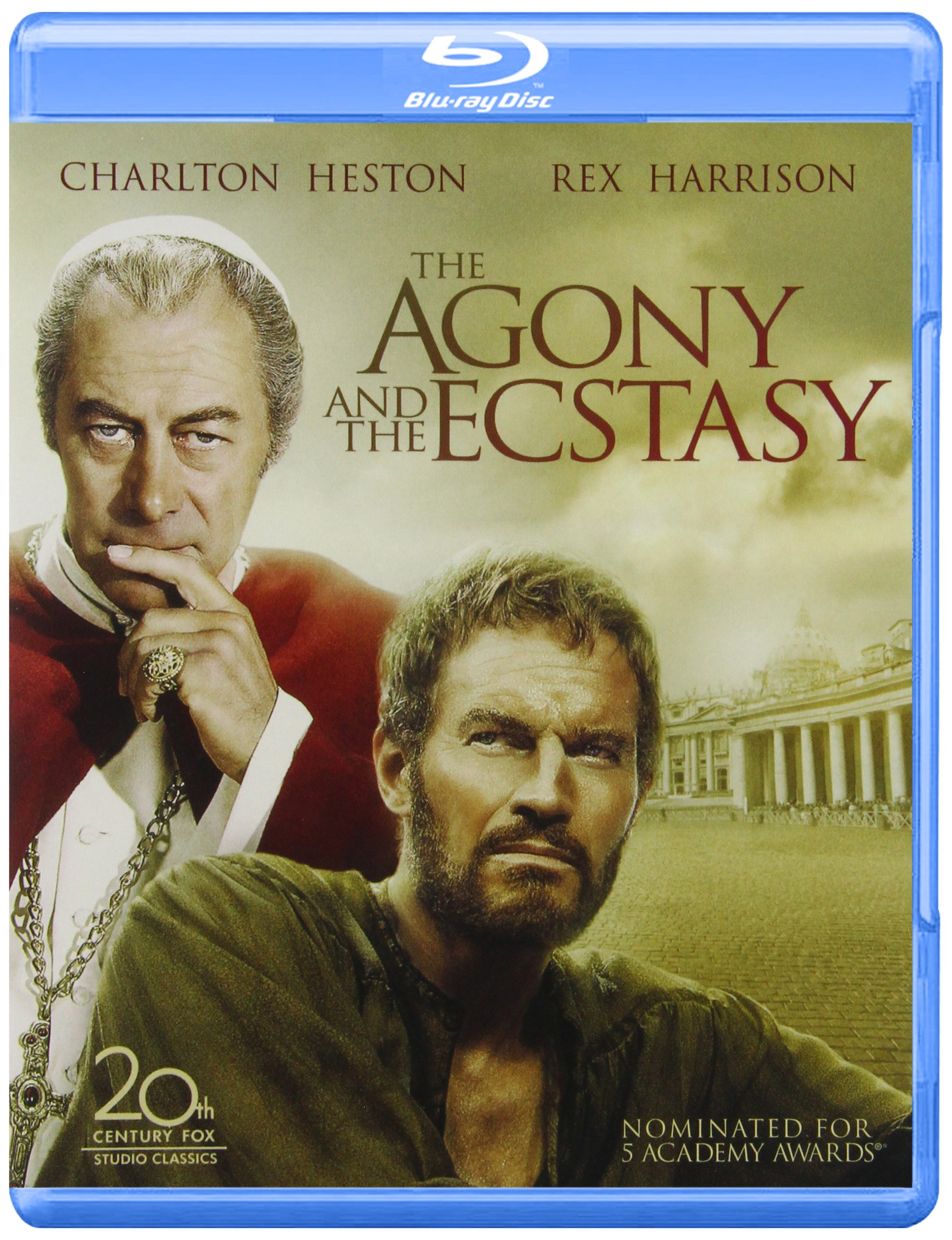 Blu-ray : The Agony and the Ecstasy (Widescreen, Digital Theater System, Dolby, AC-3, )