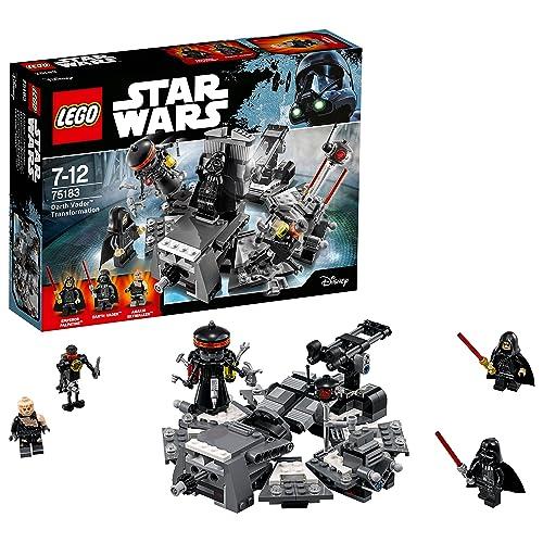 LEGO Star Wars - La transformation de Dark Vador - 75183 - Jeu de Construction
