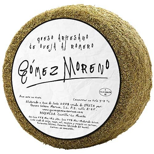 Large Rosemary Sheep's Cheese Gómez Moreno 3 Kg   Spanish Cheese
