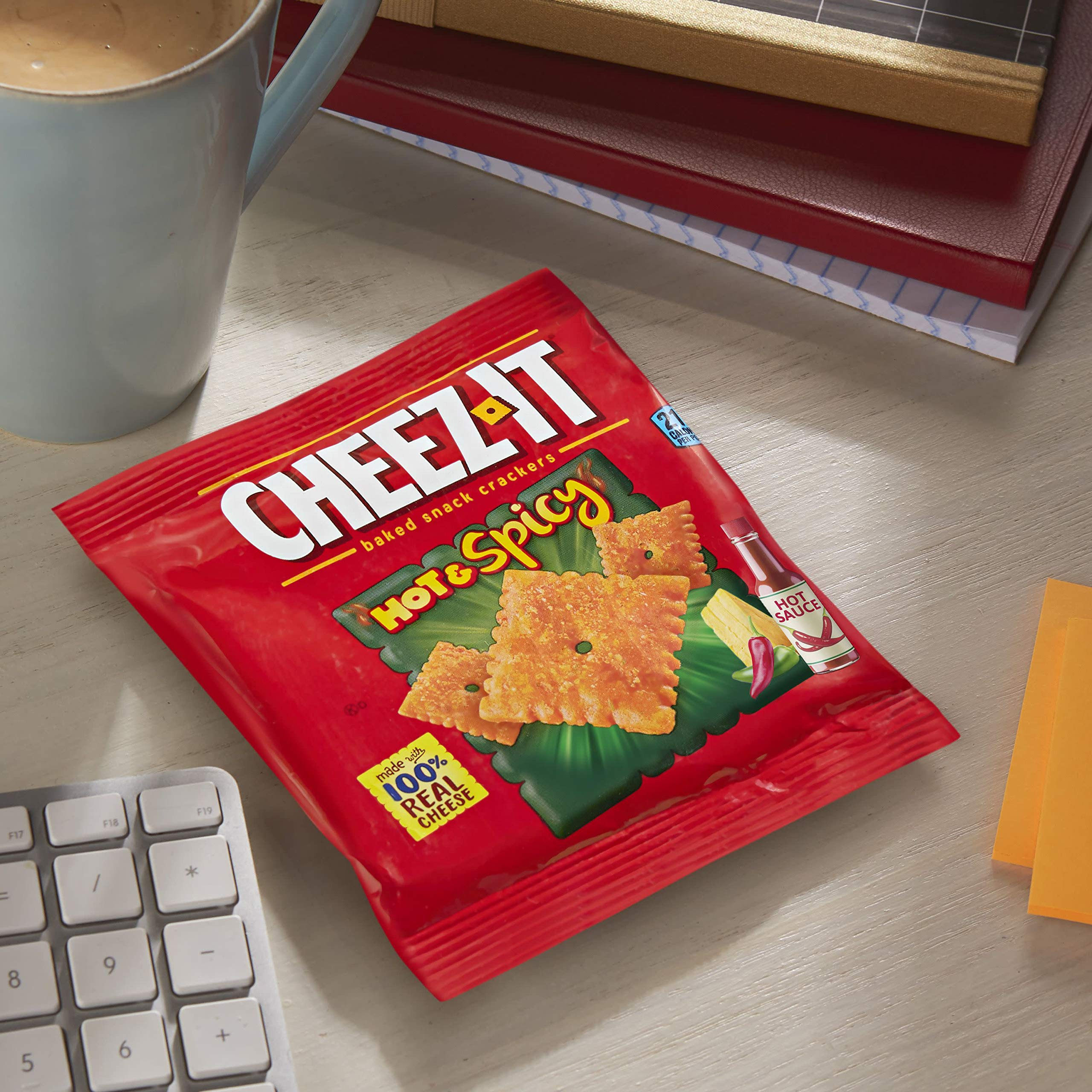 CheezIt Hot and Spicy (Pack of 60) by Cheez-It (Image #4)