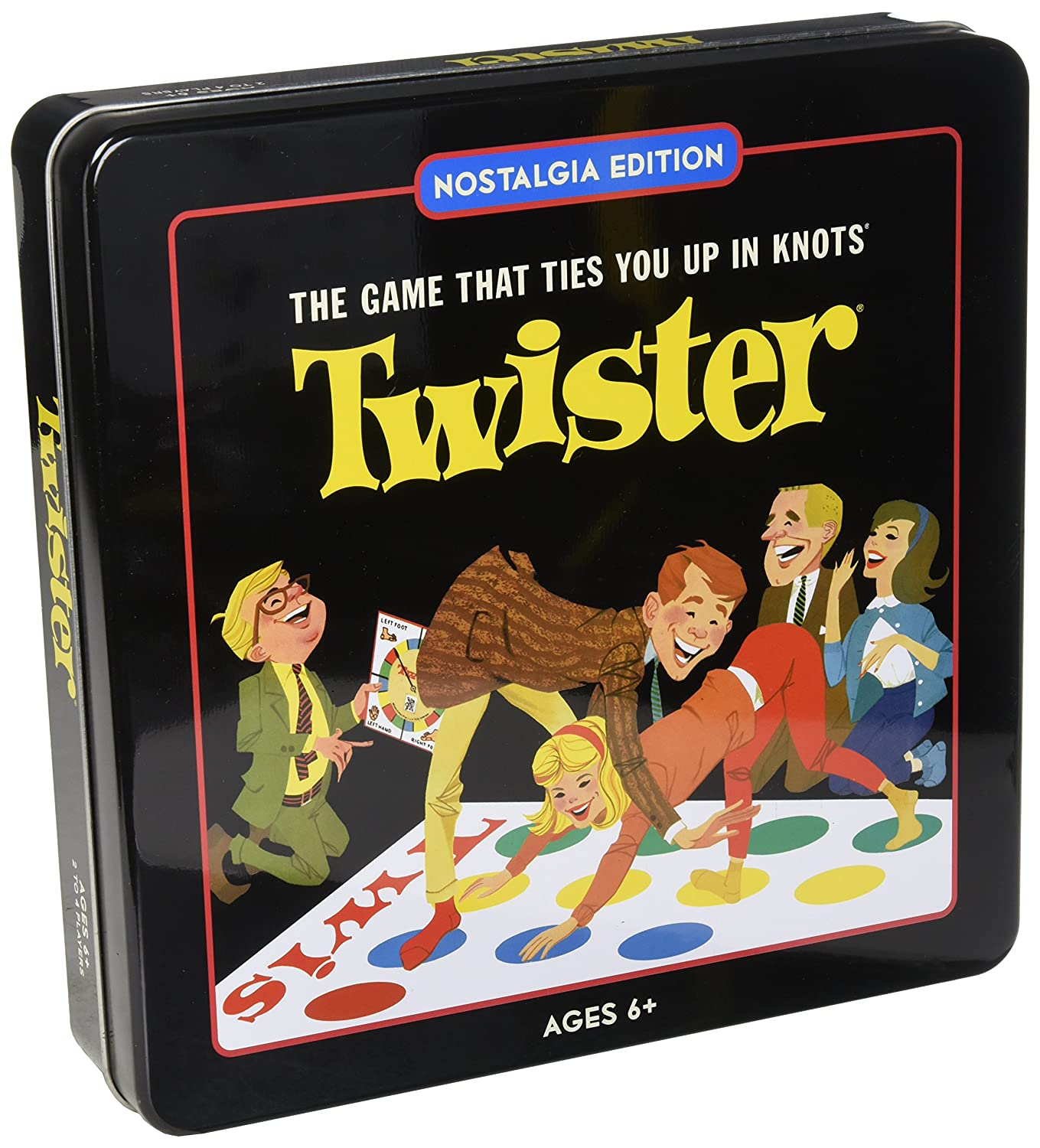 Winning Solutions Twister Nostalgia Tin Flat River Group 24506