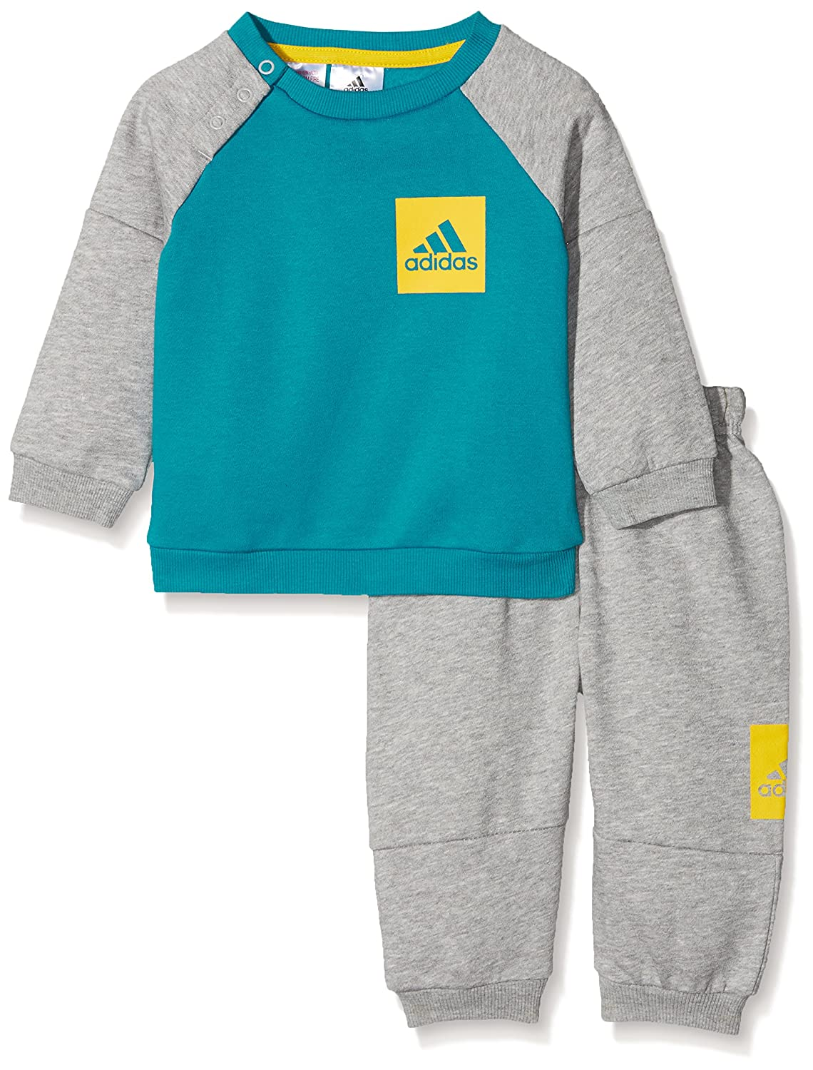 adidas Combinaison Badge of Sport de Jogging en Polaire pour Enfant