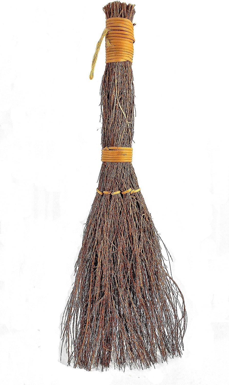 Hand Scented Cinnamon Broom – Traditional Heather Broom – Rustic Décor (36'')