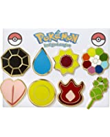 Pokemon Gym Badges - Kanto
