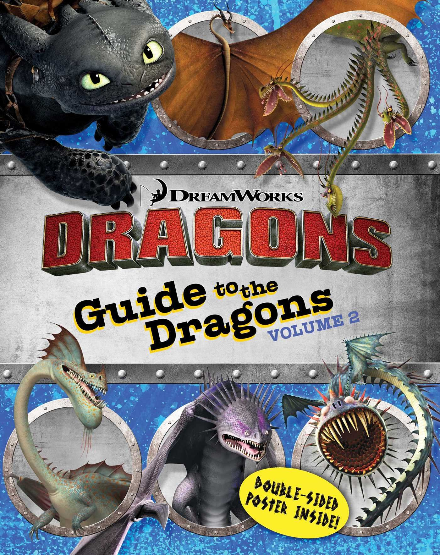 Guide To The Dragons Volume 2 (how To Train Your Dragon Tv): Cordelia  Evans, Style Guide: 9781481419871: Amazon: Books