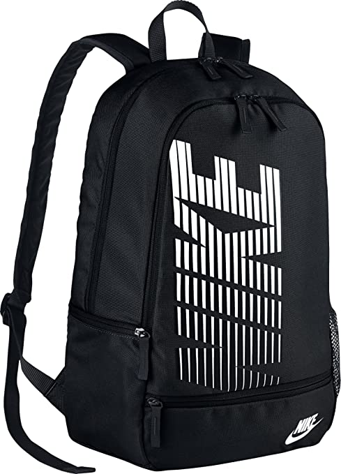 componente Cuervo victoria  Nike Classic North Black Backpack: Amazon.in: Bags, Wallets & Luggage
