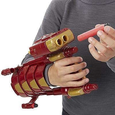 Avengers Iron Man - Guante Repulsor (Hasbro B9953EU4): The Avengers: Juguetes y juegos