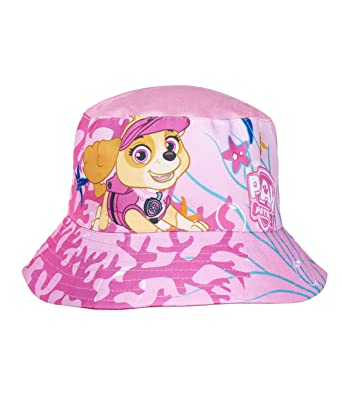 9ed32468 Paw Patrol Girls Sun Hat - Pink: Amazon.co.uk: Clothing