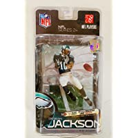 $49 » McFarlane Toys NFL Sports Picks Series 24 (BRONZE Collector Level) Action Figure DeSean Jackson (Philadelphia Eagles) Black Jersey…