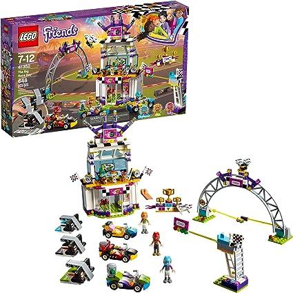 LEGO  FRIENDS  SET  #41352  THE  BIG  RACE  DAY 648  PIECES