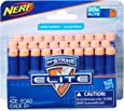 NERF Elite - 30 Pack Official Darts - Compatible with Fortnite Scar AR-L, Supressed Pistol SP-L, Rhinofire, Infinus & Hyperfire Blasters
