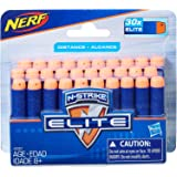 NERF Elite - 30 Pack official Darts - Compatible with Fortnite blasters - Scar AR-L, Supressed Pistol SP-L - Elite…