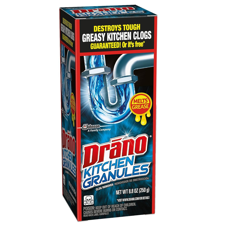 Amazon.com: Drano Kitchen Granules Clog Remover 8.8 oz: Health ...