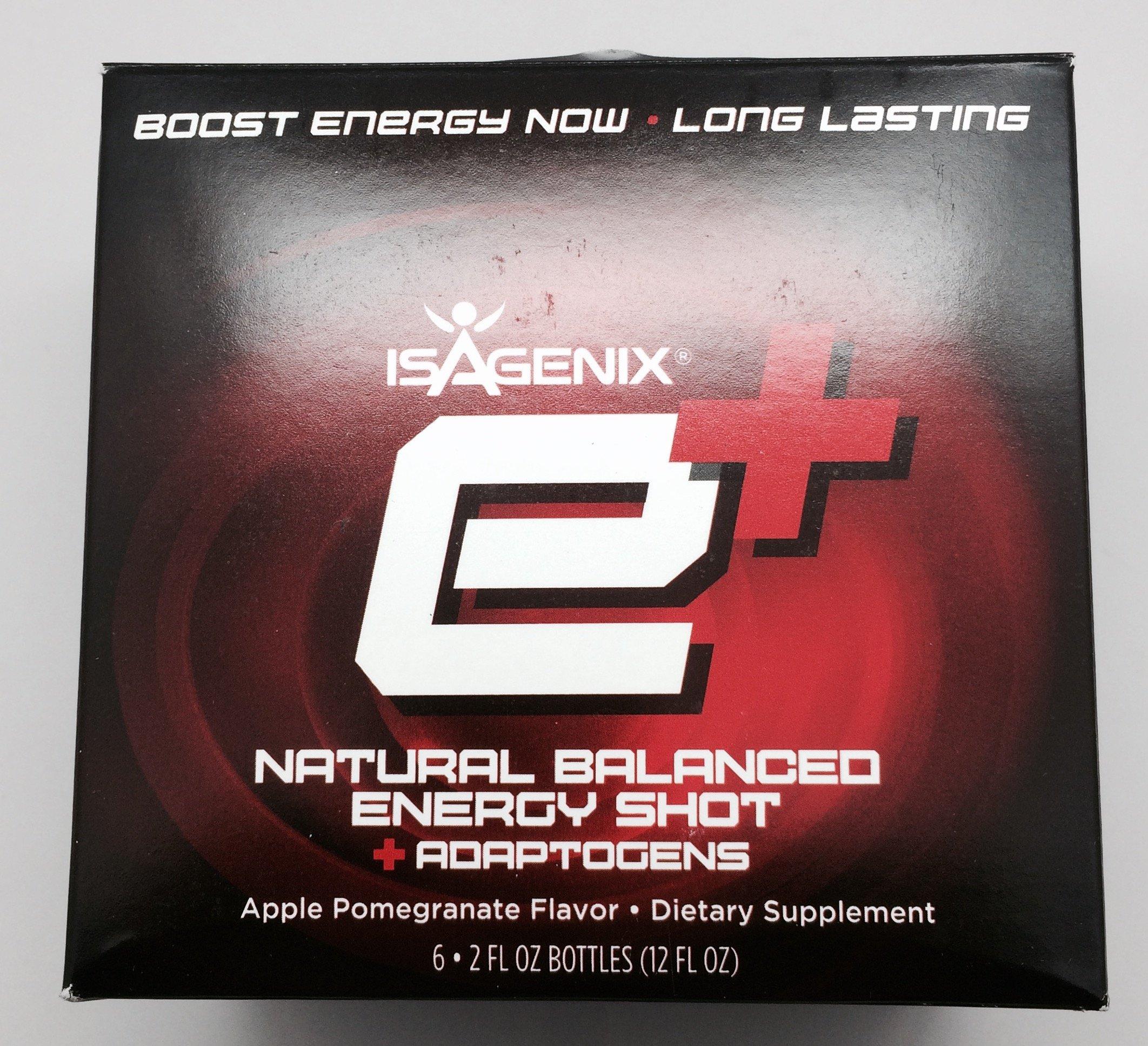 isagenix E+ shot 6-2oz bottles